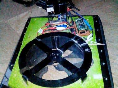 Hover Craft using STM32 microcontroller