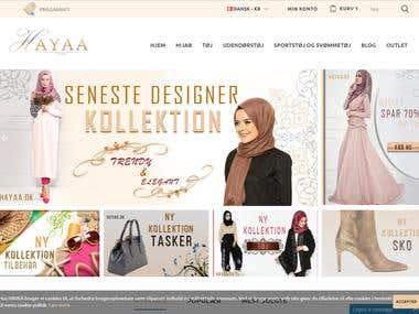 Hayaa.dk - PrestaShop