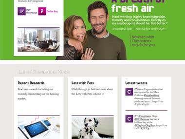 Chestertons - Property Website