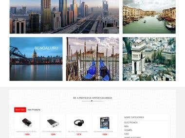 Cubishop - eCommerce Website