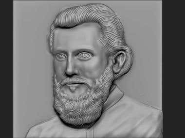 Bust Modelling for 3d printing