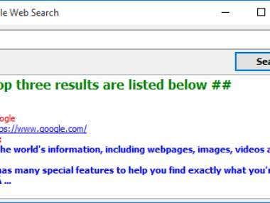 Google - Web Search (API) - DELPHI