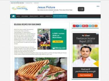 wordpress customizing site