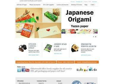 E-Commerce / Online Shopping Cart