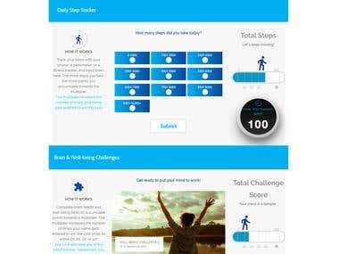 Web Development - Membership Reward Points System