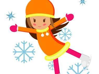 Snowgirl  design