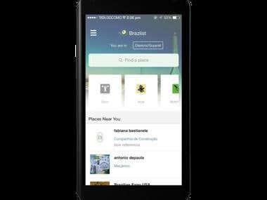 BrazList - Android app