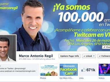 Redes Sociales / Social Media: Marco Antonio Regil