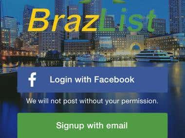 Brazlist - iOS