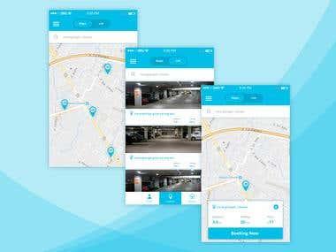 Booking Parking App