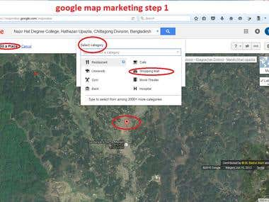 dmeo of google map