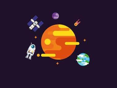 Planet Illustrations