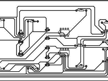 schematic and PCB design for audio circuit