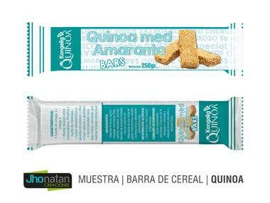 Diseño de Barra de Cereal