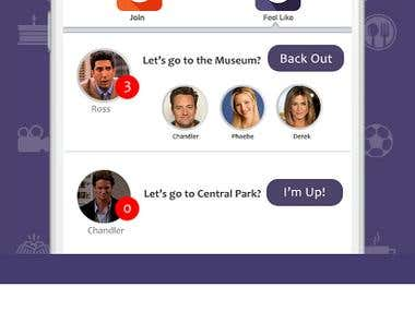 Hangto : Social media iPhone app