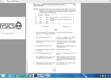 PDF to Word / Physic Solution Book