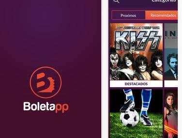 Boletapp -Ticket Booking app