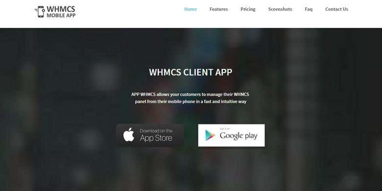 WHMCS MOBILE APP | Freelancer