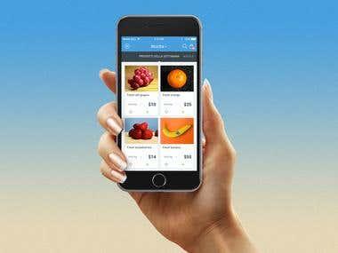 Grocery App Design