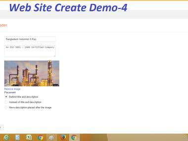 Website Create & Design Demo-4
