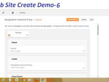 Website Create & Design Demo-6