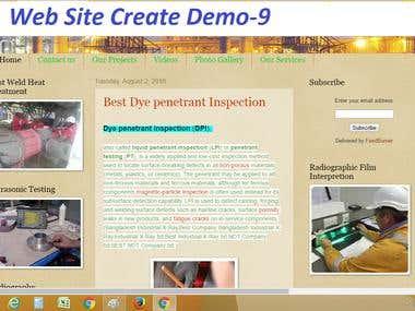Website Create & Design Demo-9