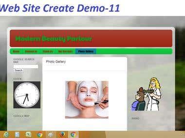 Website Create & Design Demo-11