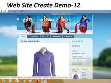 Website Create & Design Demo-12