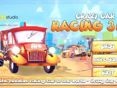 [gameXstudio] Crazy Car Racing 3D Online