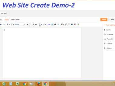 Website Create & Design Demo-2