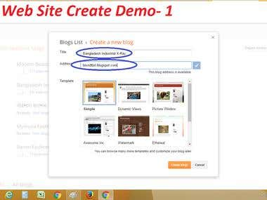 Website Create & Design Demo -1