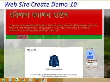 Website Create & Design Demo-10