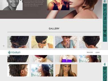 Embellysh Wordpress Website