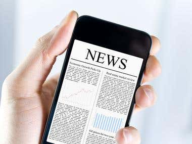 Android Application: News