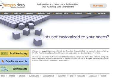 Max Pro Data