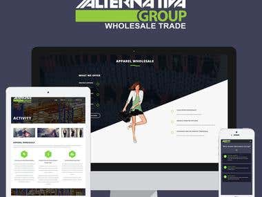 Alternativa Group - Website