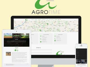 Agrotime - Website