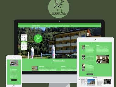 Popini Luki Hotel - Website