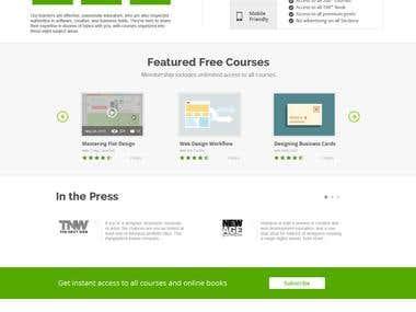 Online Educational Website