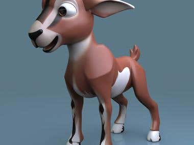 Disney goat