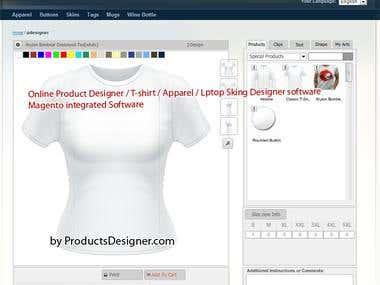 Magento T-Shirt Design Tool v4.2