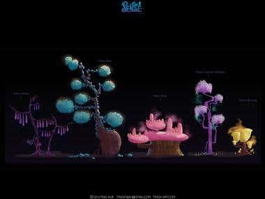 SENSE, Feature Film Concept Art
