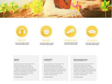 Website design | Bailabailaonline