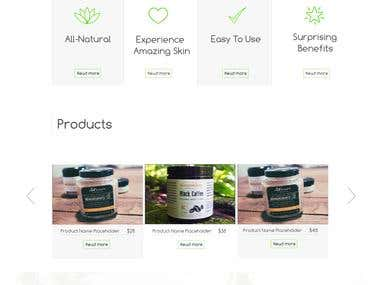 Website design | Nature4body