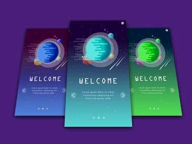 Onboarding App Design