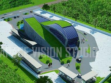 3D Commercial buildings