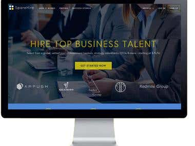 Spare HIRE - MARKETPLACE- NETWORKING SITE