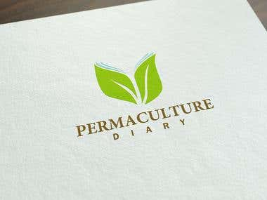 Logo Design for Permaculture Diary