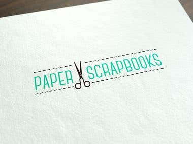 Logo Design for Paper Scrapbook