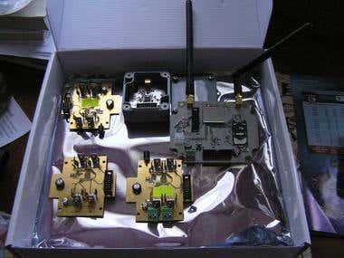 868 MHz data acquisition prototype set